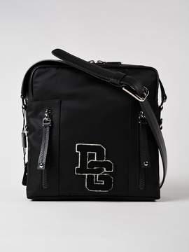 Dolce & Gabbana Medium Brand Patch Shoulder Bag