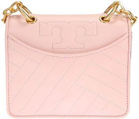 Tory Burch Leather Alexa Mini Bag - PINK - STYLE