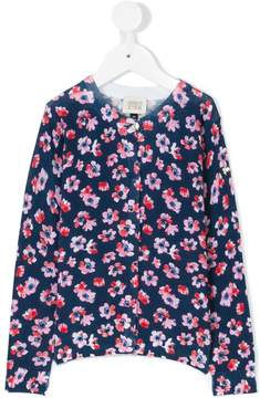 Emporio Armani Kids flower print cardigan