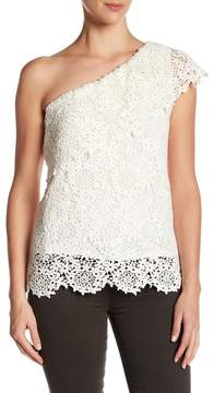 Velvet by Graham & Spencer One-Shoulder Lace Top