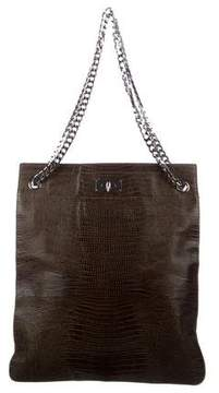 Givenchy Embossed Shark Tooth Tote