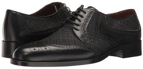 Etro Wool/Leather Oxford Men's Shoes