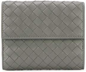 Bottega Veneta bi-fold interlaced wallet