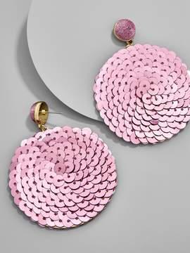 BaubleBar Queenie Sequin Drop Earrings