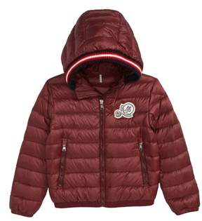 Moncler Xavier Long Season Hooded Down Jacket
