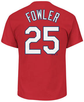Majestic Men's Dexter Fowler St. Louis Cardinals Official Player T-Shirt