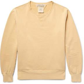 Remi Relief Loopback Cotton-Jersey Sweatshirt