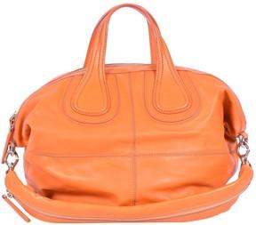 Givenchy Nightingale Orange Leather Handbag