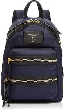 Marc Jacobs Biker Mini Nylon Backpack - BLACK/SILVER - STYLE