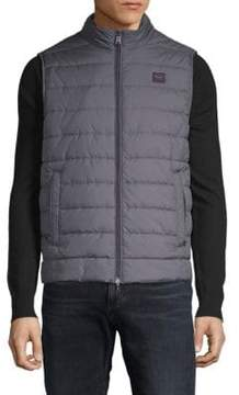 Paul & Shark Quilted Woven Vest