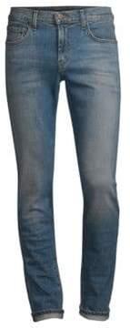 J Brand Taper Tyler Slim Straight Distressed Jeans