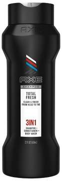 Axe Total Fresh 3in1 Shampoo + Conditioner + Body Wash - 22oz