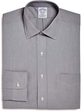 Brooks Brothers Micro Stripe Regular Fit Dress Shirt