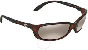 Costa del Mar Brine Copper Silver Mirror 580G Wrap Sunglasses BR 10 OSCGLP