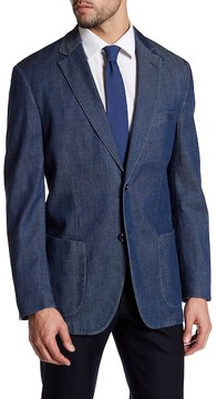 Kroon Two Button Notch Lapel Denim Jacket