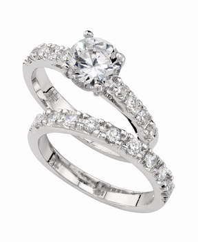 Charter Club Ring Set, Cubic Zirconia Engagement (3 ct. t.w.)