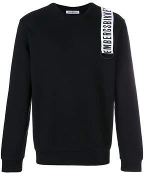 Dirk Bikkembergs logo patch sweatshirt