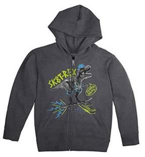 Hanes Boys' FreshIQ Graphic Fleece Zip Hoodie