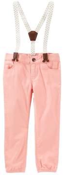 Osh Kosh Oshkosh Bgosh Todderl Girls Corduroy Susupender Pants