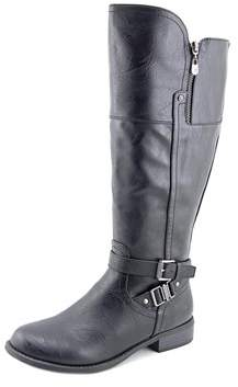 G by Guess Heylo Wide Calf Round Toe Synthetic Knee High Boot.