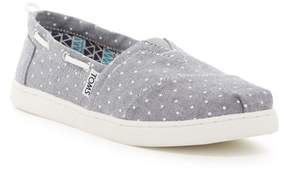 Toms Grey Polka Dot Slim On-Shoe (Little Kid & Big Kid)
