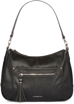 LIZ CLAIBORNE Liz Claiborne Julie Top Zip Shoulder Bag