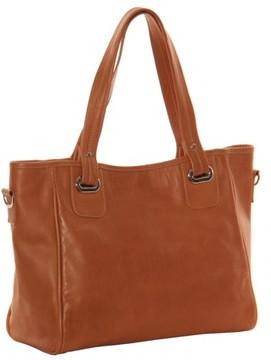 Piel Leather OPEN TOTE/CROSS BODY BAG