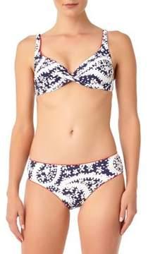 Anne Cole Printed Bikini Top