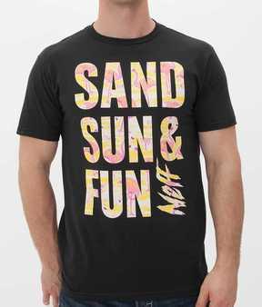Neff Sand Sun & Fun T-Shirt