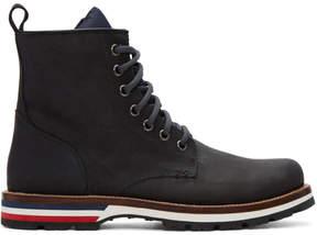 Moncler Black New Vancouver Boots