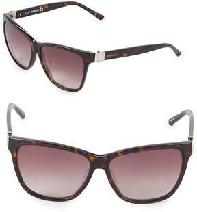 Swarovski Women's 56MM Square Sunglasses