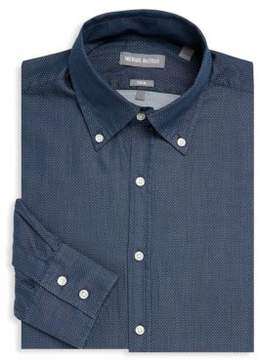 Michael Bastian Textured Linen Dress Shirt
