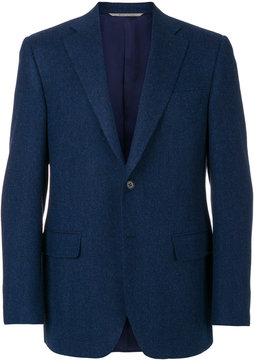 Canali formal fitted blazer