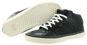 Vans Mens Ellis Mid Twill Skate Sneakers Black 6.5