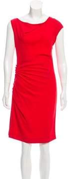 Mantu Sleeveless Ruched Dress