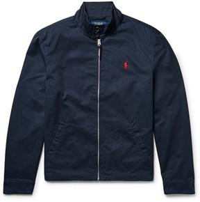 Polo Ralph Lauren Barracuta Cotton-Twill Jacket