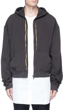 Haider Ackermann Embroidered zip hoodie