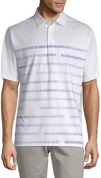 Callaway Men's Striped Short-Sleeve Polo