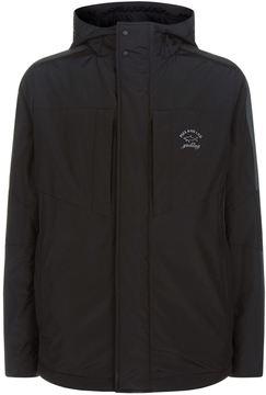Paul & Shark Woven Panel Hooded Jacket