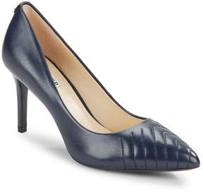 Karl Lagerfeld Paris Women's Roulle Leather Point-Toe Pumps