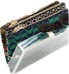 Charlotte Olympia Cloth clutch bag