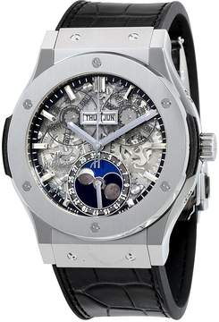 Hublot Classic Fusion Aerofusion Moonphase Sapphire Dial Titanium Men's Watch
