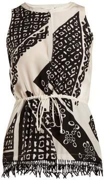 Altuzarra Bourse bandana-print top