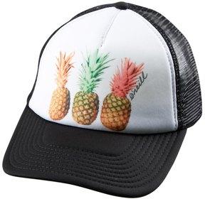 O'Neill Girls' Pineapple Peace Trucker Hat (Big Kid) 8168238