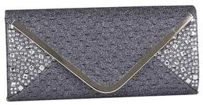 J. Furmani Women's 81340 Rhinestone Glitter Envelope Clutch