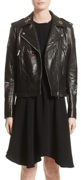 Belstaff Women's Mariner Marving-T Leather Moto Jacket
