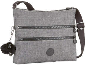 Kipling Alvar zipped shoulder bag - BLACK SCALE EMB - STYLE