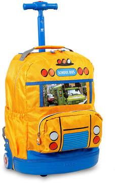 J World School Wheeled Backpack