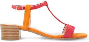Dune Issie T-bar suede sandals