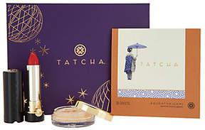 Tatcha Makeup Lover 3-piece Holiday Beauty Gift Set